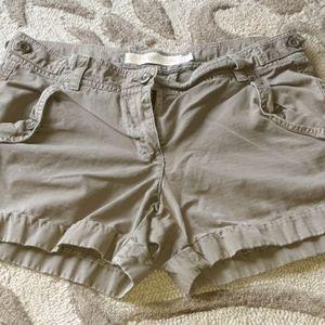 J. Crew Chino classic twill shorts size 2